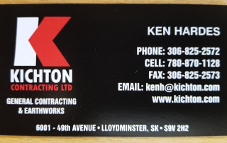 Kichton Business Card