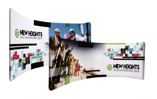Tradeshow Wrap Around Display