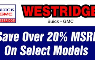 Westridge portable sign